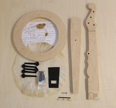 DIY Minstrel Banjo Kit by Carver Banjos
