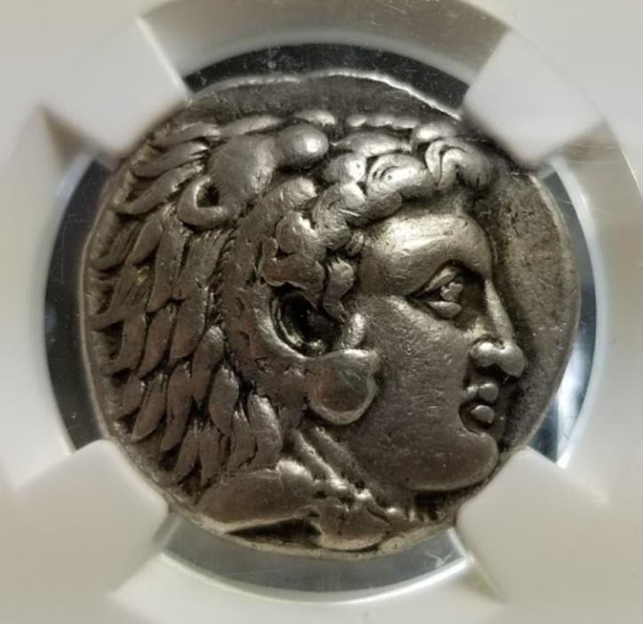 SELEUKID EMPIRE. Seleukos I Nikator. As satrap, 321-315 BC. AR Tetradrachm. NGC