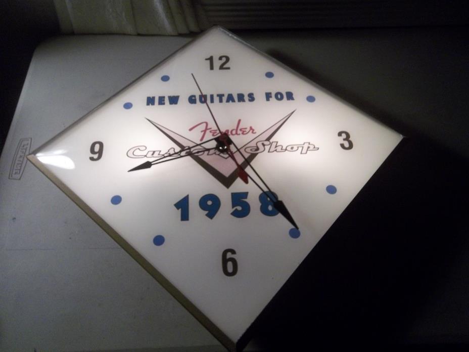 Vintage Pam Clock Fender Guitars