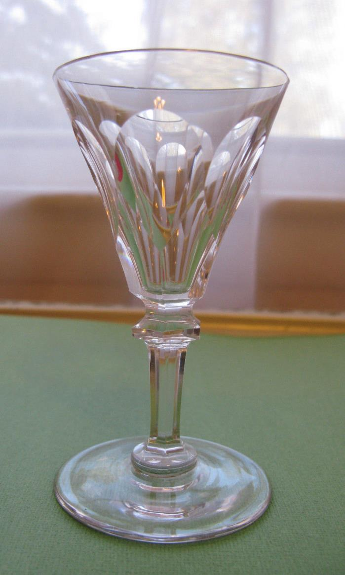 Antique Crystal 19th Century Fluted Sherry Port Glass
