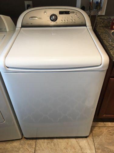 Whirlpool Cabrio 4.6 Cu Ft HE Top Load Washing Machine White WTW8200YWO