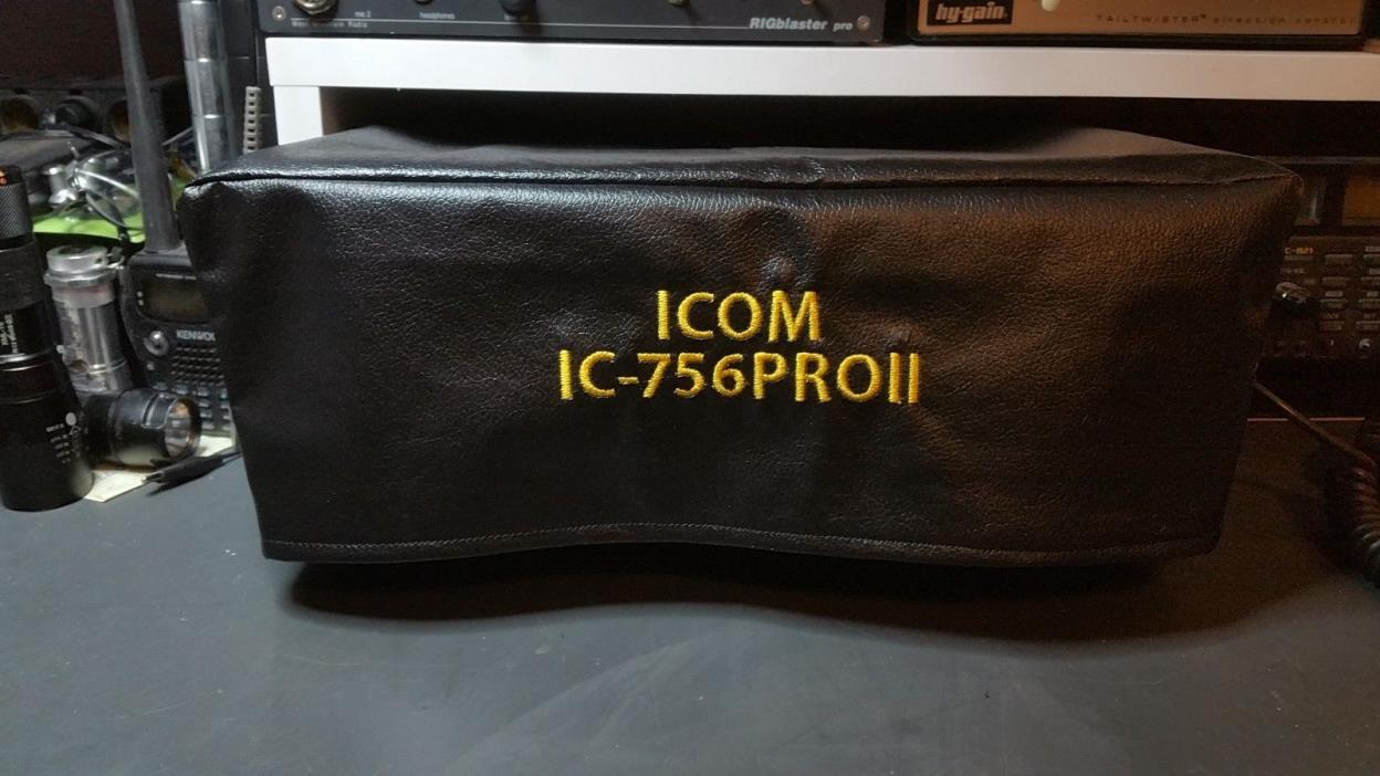 Icom IC-756 , 756PRO, PROII and PROIII Ham Radio Amateur Radio Dust Cover