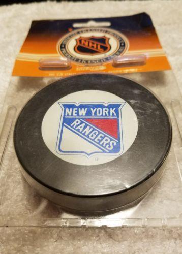 New York rangers Ziegler nhl hockey game puck