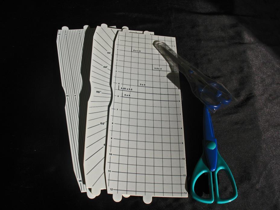CREATIVE MEMORIES Straight Edge Scrapbooking Craft Scissors  NIP and Decorative