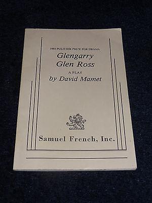 Glenglarry Glen Ross David Mamet Play script NEW Samuel French
