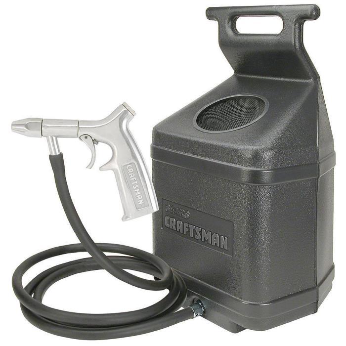Craftsman 50 lb. Sandblaster Kit with 1/4 Inch Ceramic Nozzle