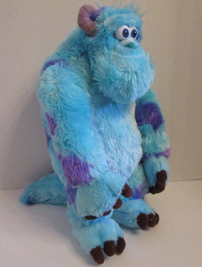 Sulley Disney Pixar Monsters Inc Plush Stuffed Animal Soft Toy 14