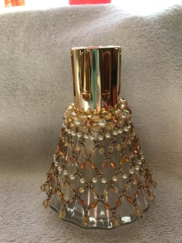 Lampe Berger Lamp Paris France with removable beaded jacket