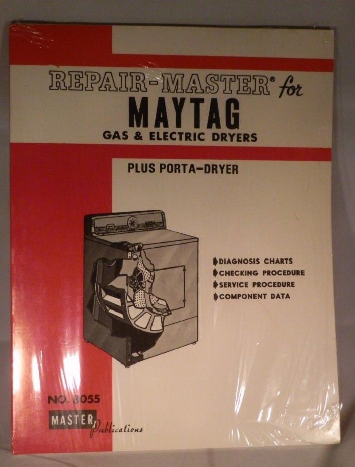 Repair Master for MAYTAG Gas & Electric Dryers # 8055