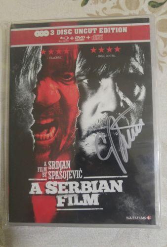 Srpski Film- *3 Disc- *Srdjan Spasojevic-*UNCUT ***AUTOGRAPHED BY DIR.!!!! (OOP)