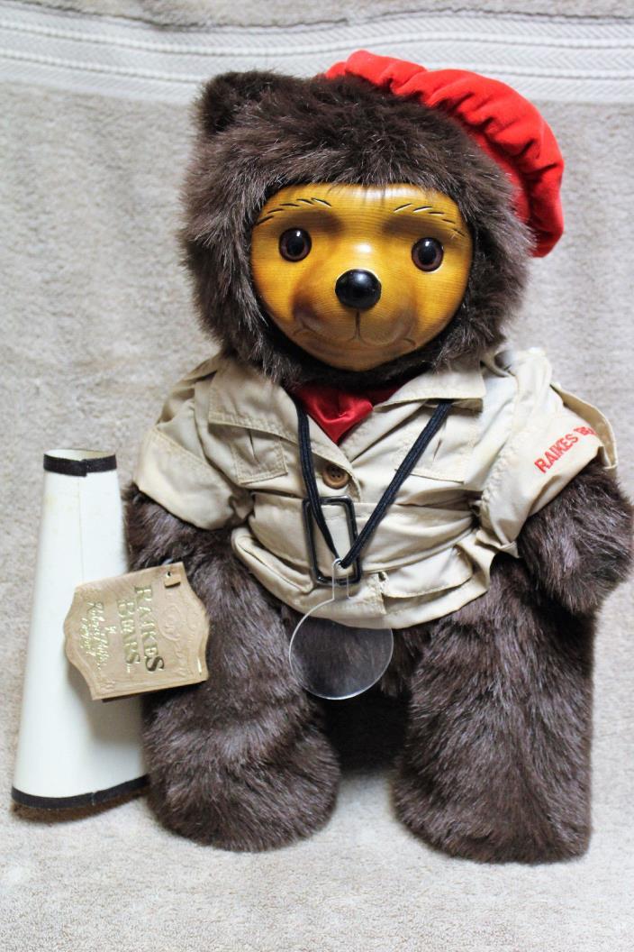 CECIL RAIKES BEAR #5466 GLAMOUR BEARS