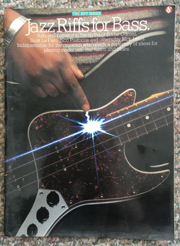 Jazz Riffs for Bass book by Rick Laird