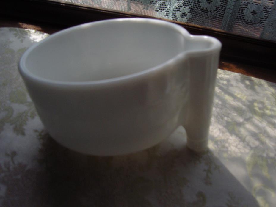 Antique Vintage Sunbeam mixer juicer milk glass bowl atachment 1940's
