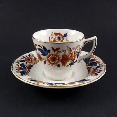 Booth's China DOVEDALE Demitasse Cup & Saucer Set