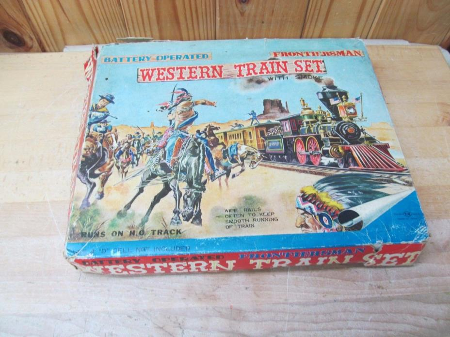Vintage Western Train Set Toy – Nomura Toys Japan
