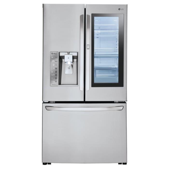 24 cu. ft. 3-Door French Door Refrigerator with InstaView Door-in-Door in