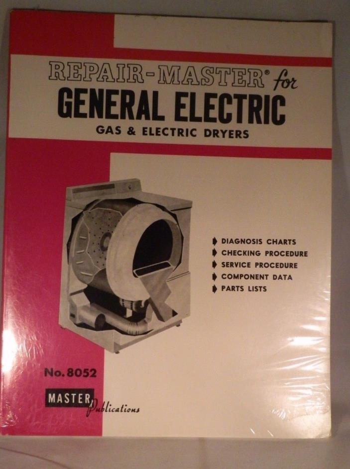 Repair Master for General Electric Gas & Electric Dryers # 8052
