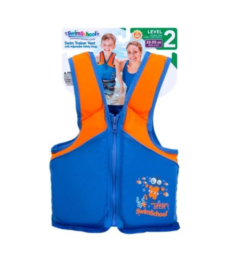 Swim School Swim Trainer Vest 33-55lbs