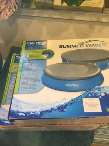 Summer Waves Pool Cover For 8ft-10ft Pools Brand New Factory Sealed