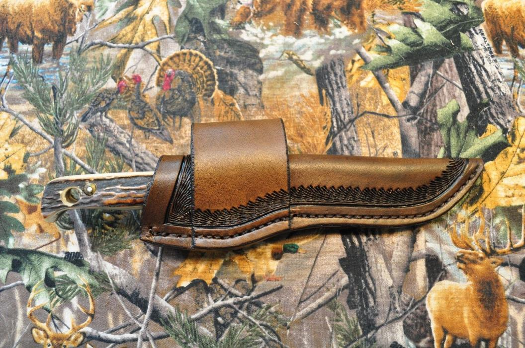 custom crossdraw/scout sheath for puma hunters pal knife 116397-SHEATH ONLY, USA