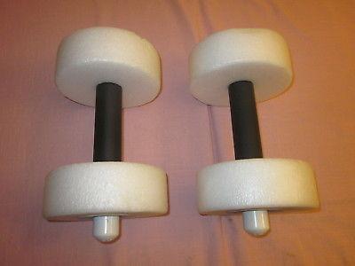 Set of Floaties shaped like hand weights