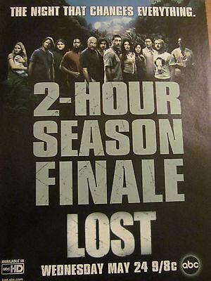 Lost, Matthew Fox, Josh Holloway, Full Page Promotional Ad