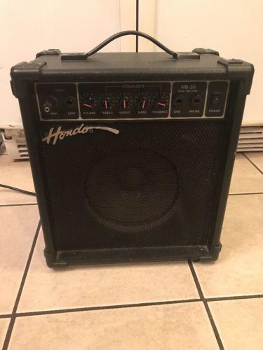 Vintage Hondo HB-35 Bass Amplifier