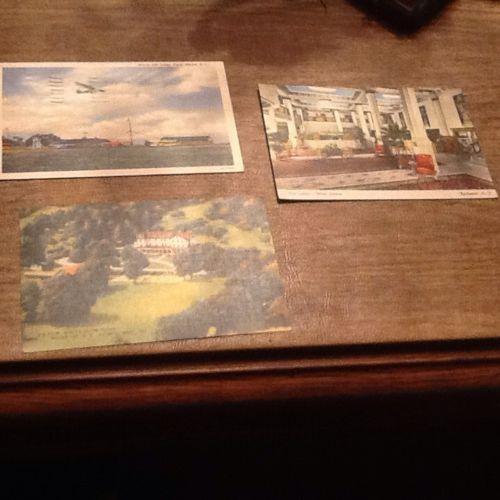 5 Vintage Used Christmas Cards,2 Vintage Used Valentine Cards,3 Vintage Used Pc