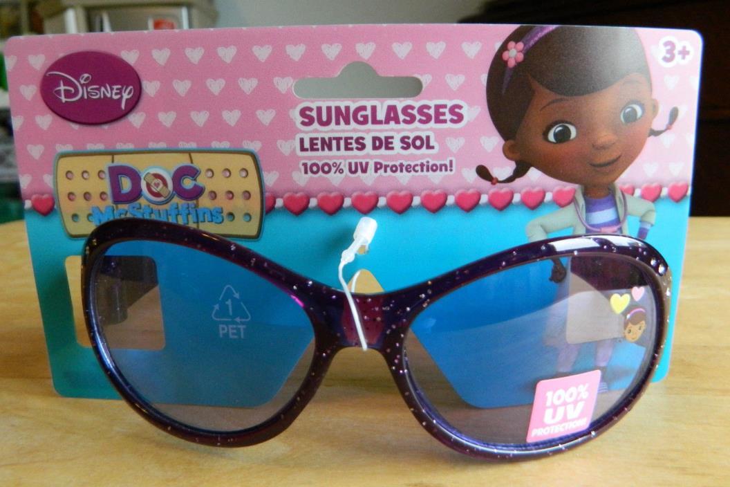 Doc McStuffins toddler purple sunglasses