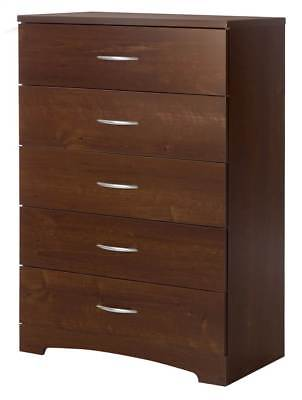 5-Drawer Chest in Sumptuous Cherry Finish [ID 3495359]
