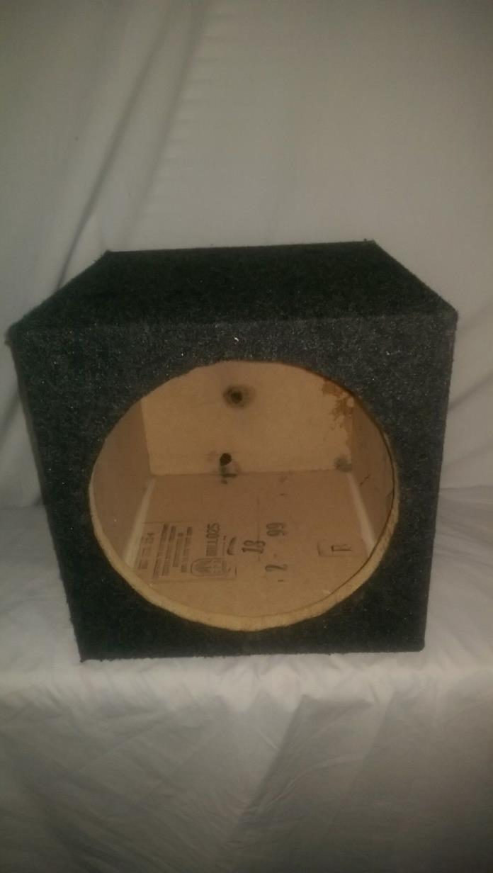 12 inch sub woofer enclosed speaker box