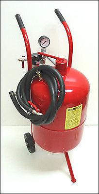 20 Gallon High Pressure Air Sand Blaster Blastering Abrasive Media Tank