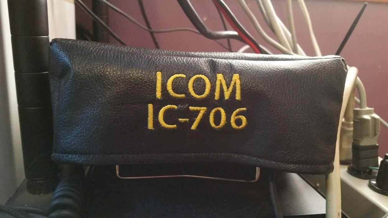 Icom IC-706 , 706MkII and 706MKiig Ham Radio Amateur Radio Dust Cover