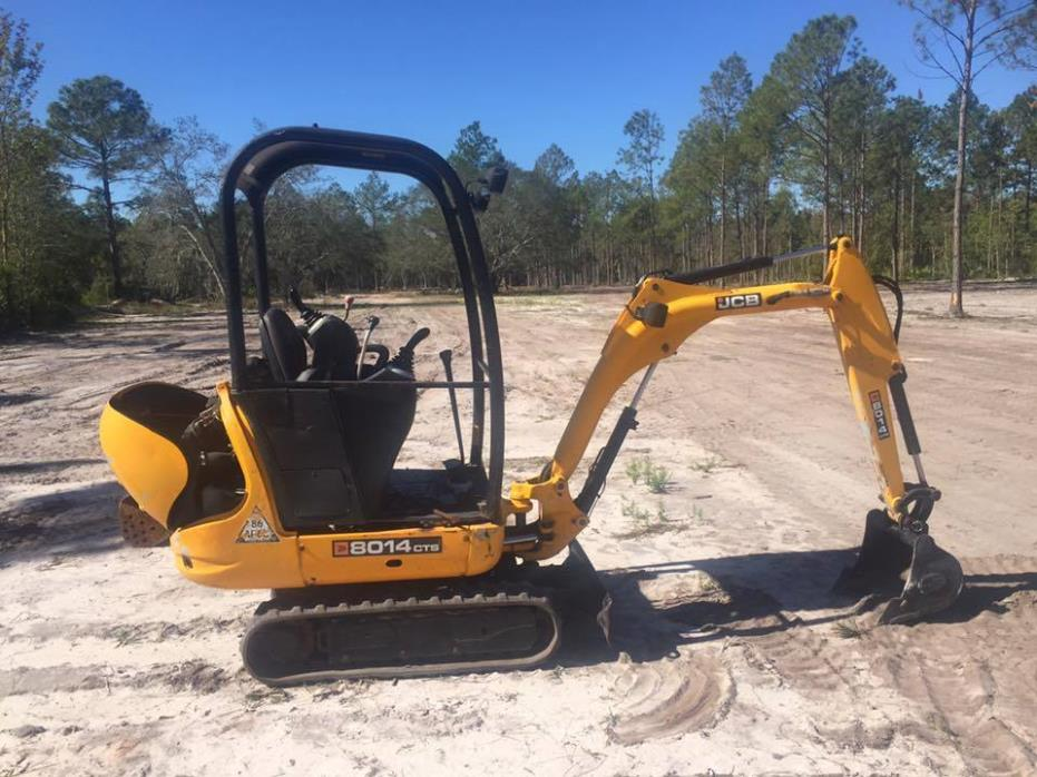 JCB 8014 CTS mini diggers 2 available