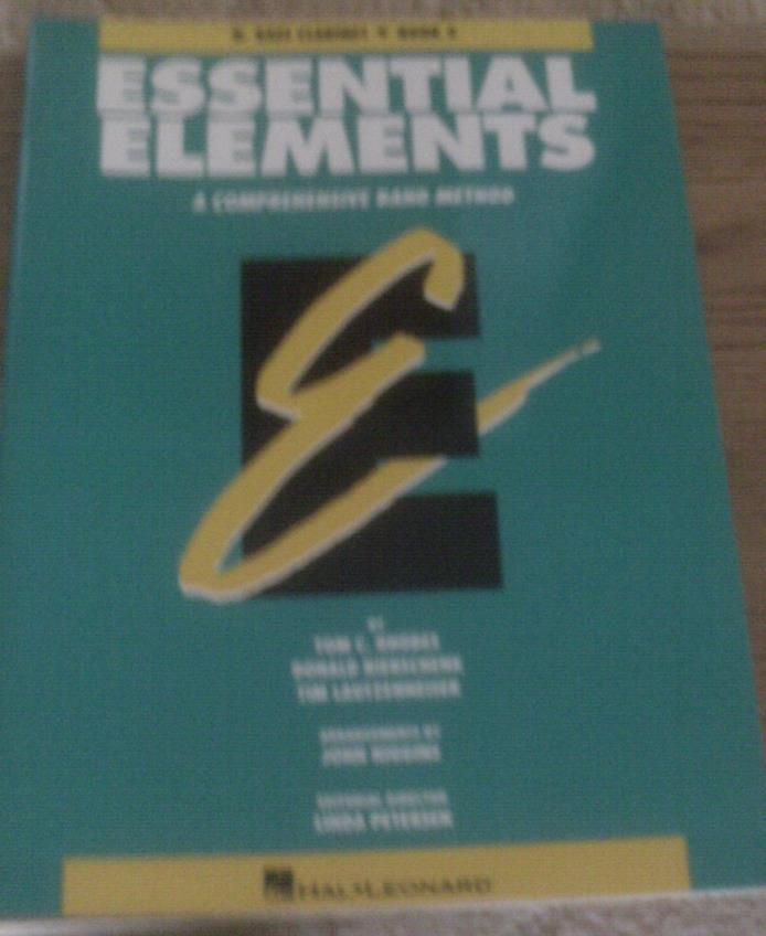 Essential Elements Comprehensive Band Method Bass Clarinet Book 2