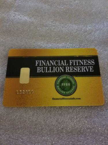 1 Gram Pure Gold Bar Bullion