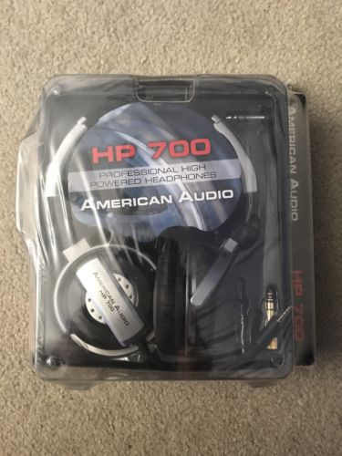 American Audio HP 700  - Professional High-Powered Headphones