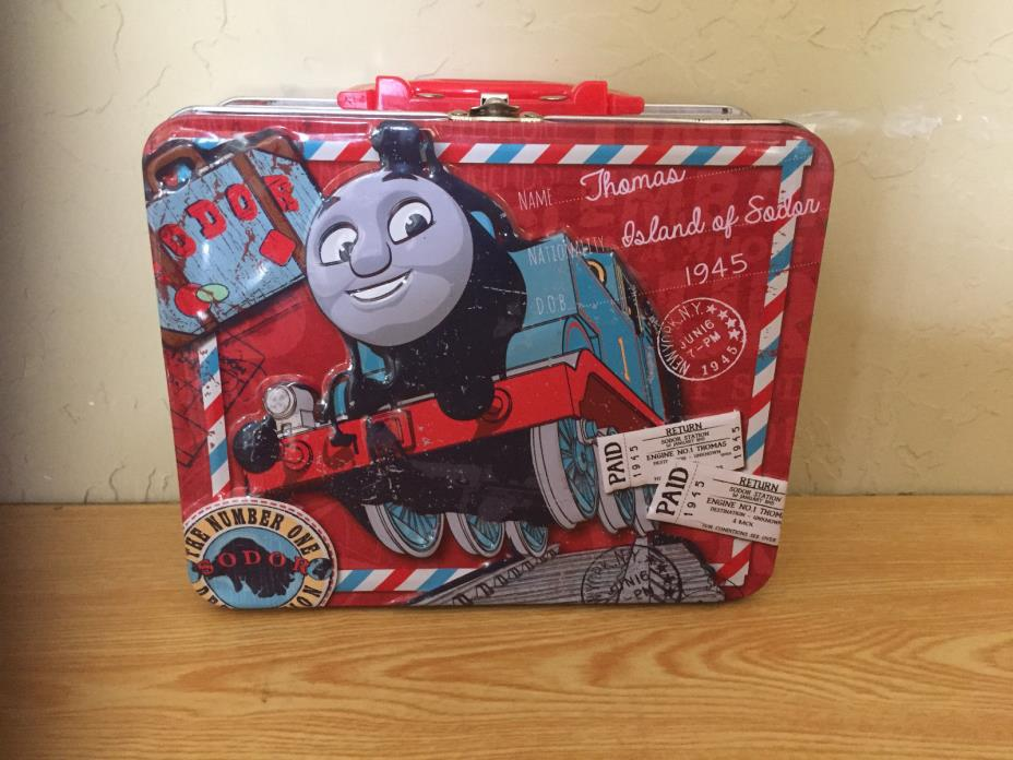 Thomas The Train Lunch Box Metal