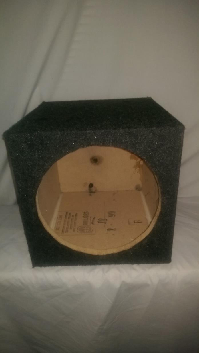 12 inch sealed sub woofer speaker box