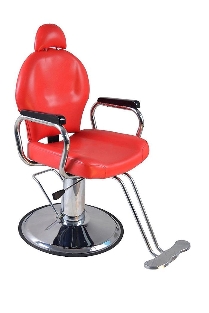 Barber Tattoo Reclining Hydraulic Shop Salon Spa Station Chair - Vintage Look