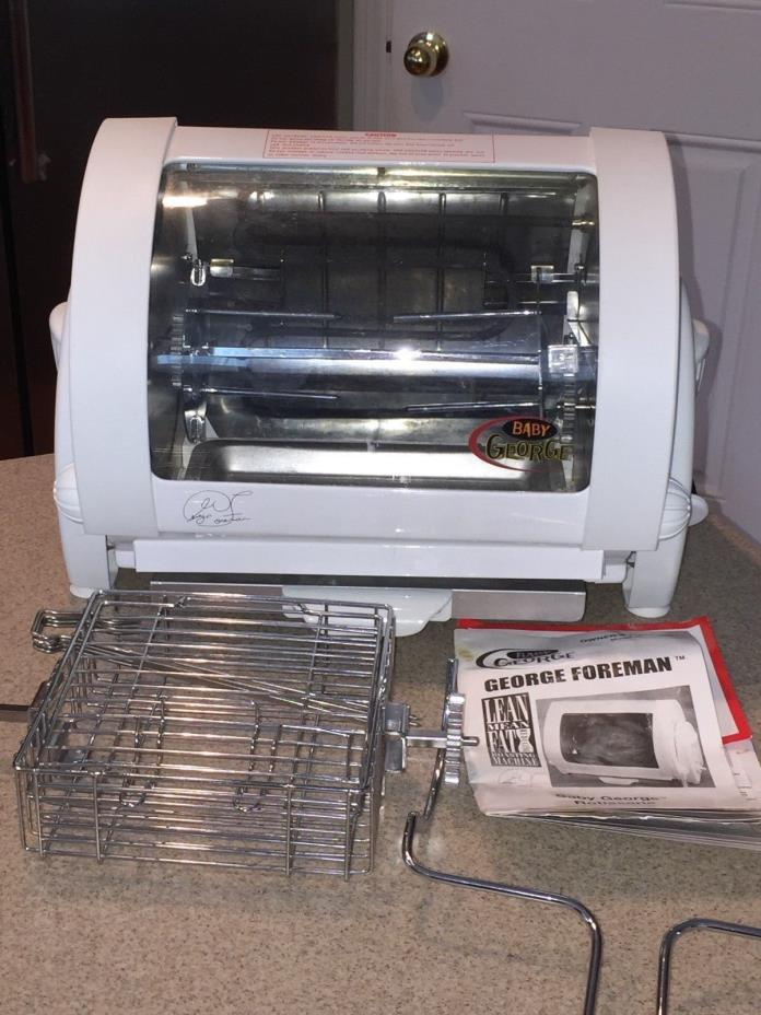 Baby George Foreman Rotisserie For Sale Classifieds