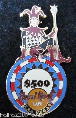 Hard Rock Cafe Las Vegas Joker  pin