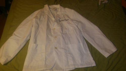 Lab coat small white
