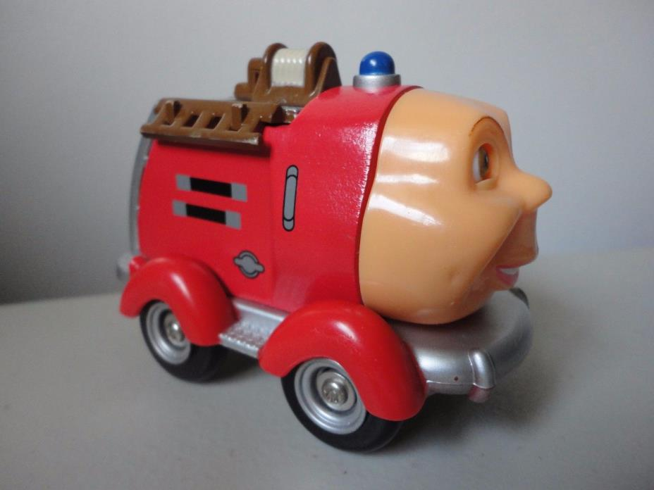 Evan the Fire Truck Toy from Jay Jay the Jet Plane Wood & Plastic 2002