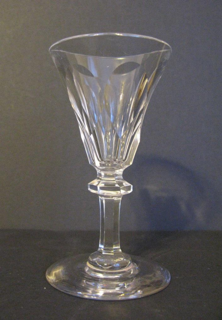 Antique Crystal 19th Century Fluted Sherry Port Glass       #4