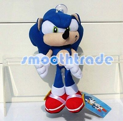 Sega Sonic the Hedgehog Classic Character Plush Stuffed Doll Toy Rare Style 8.5