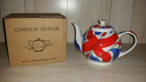 $65 NEW PAUL CARDEW KEEP CALM AND CARRY ON TEAPOT