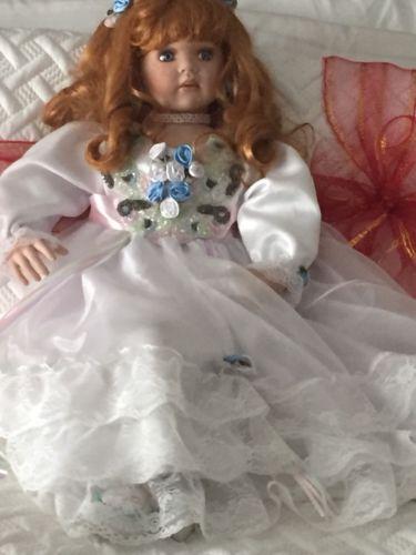 Paradise Galleries porcelain doll 34