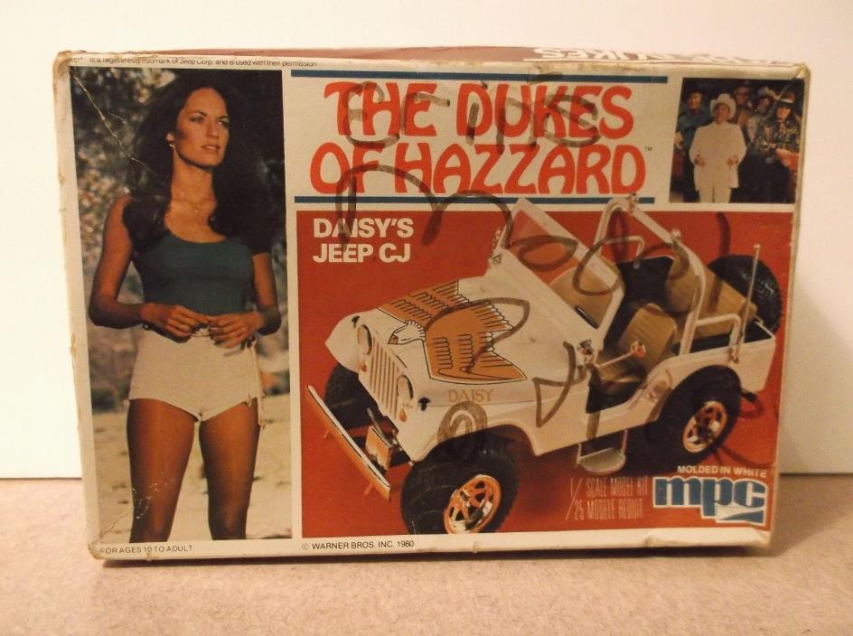 Dukes Of Hazzard Jeep Model Kit