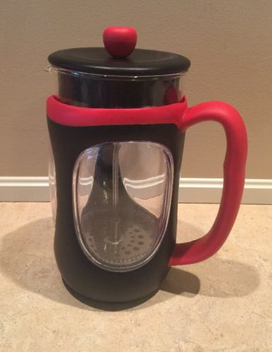BODUM French Press Shock Resistant Red/Black